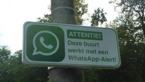 WhatsApp in wijk 2015 10